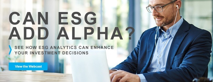 Can ESG add alpha webcast