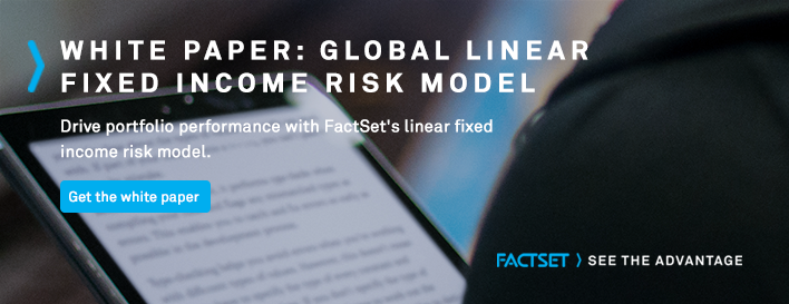 factset global linear fixed income risk model