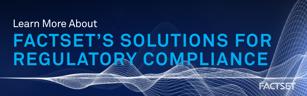Learn More about our Regulatory Solutions