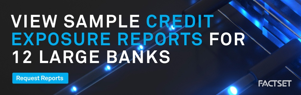 View sample credit exposure reports for 12 large banks