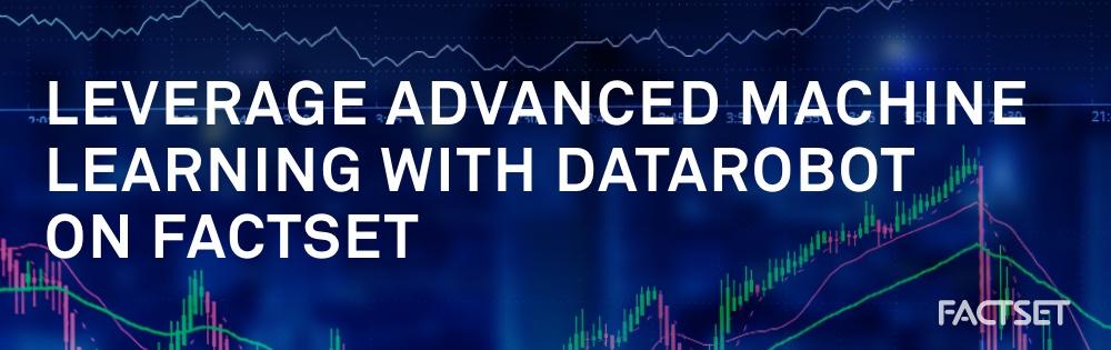 datarobot on factset