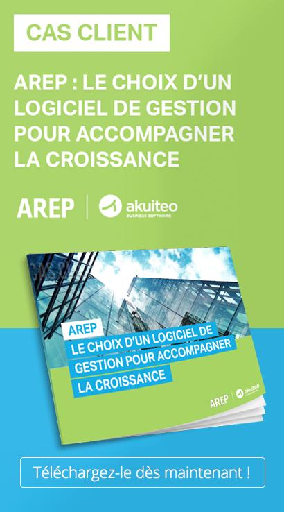 Découvrez commentAREP, bureau d'études pluridisciplinaire a fait le choix de l'ERP Akuiteo.