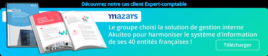 Le Groupe Mazars choisi la solution de gestion interne Akuiteo