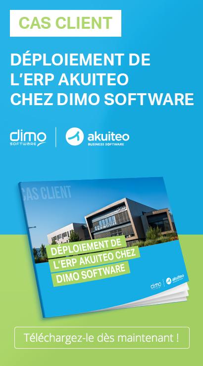 Découvrez comment DIMO SOFTWARE, éditeur et intégrateur de logiciels a fait le choix de l'ERP Akuiteo.