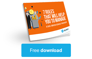 Download our free ebook : The 7 rules of good management for services compagnies