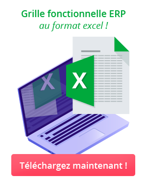 Téléchargez notre grille fonctionnelle ERP au format excel