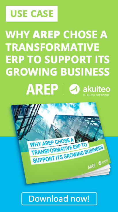 Find out how AREP, a multidisciplinary study firm, chose the Akuiteo ERP.