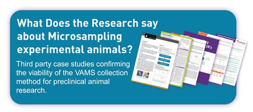 link tp preclinical research using vams microsampling technology on experimental animals