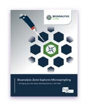 cover image of Bioanalysis e-book on exploring Microsampling in 2017