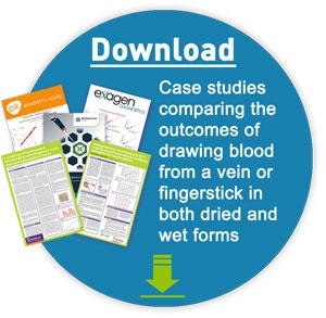 a collection of specimen collection case studies and research presenting the various differences and similarities between collecting blood from capillary finger stick prick and venous whole blood draws