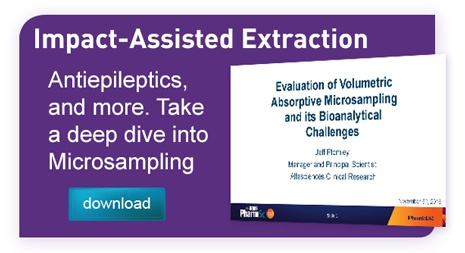 Graphic link to alta sciences case study evaluating the extraction of antiepileptics from VAMS microsampling tips