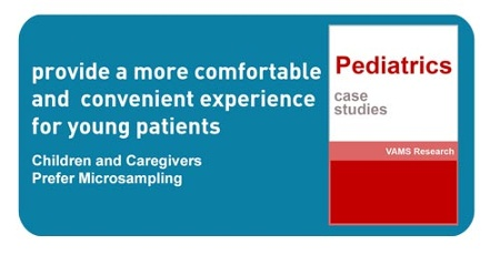 click to download case studies demonstrating the successful use of blood microsampling vulnerable populations