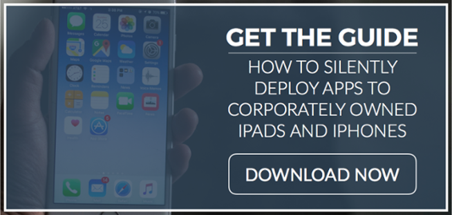 How to Silently Push Apps to your iOS Devices