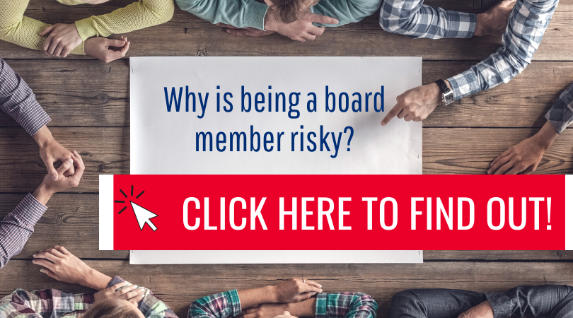 Why is bring a board member risky?