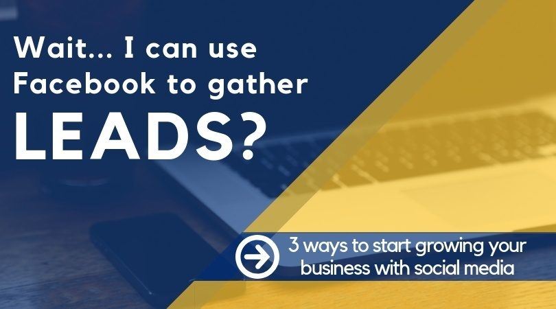 Want to learn more? Here are 3 ways to start growing your business with social media