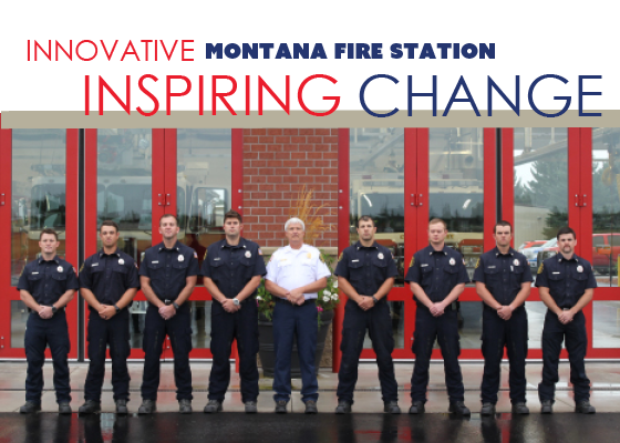 An innovative Montana Fire Station Inspiring Change