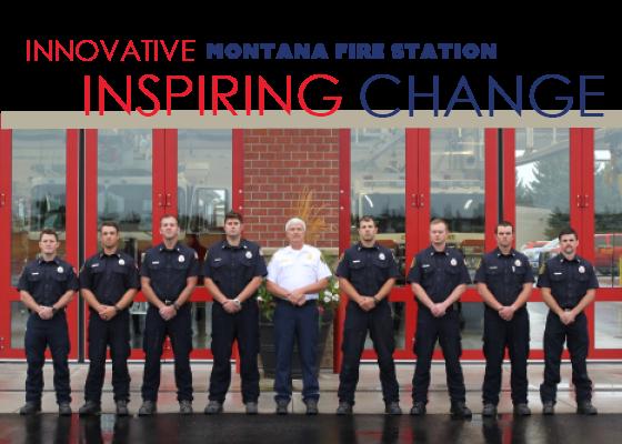 An innovative Montana Fire Station Inspiring Change