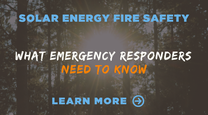 What emergency responders need to know about solar energy
