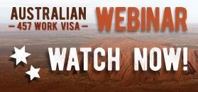 Australian 457 Work Visa Webinar