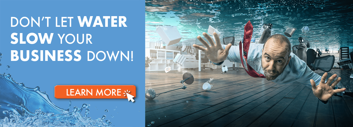 Don't Let Water Slow Your Business Down