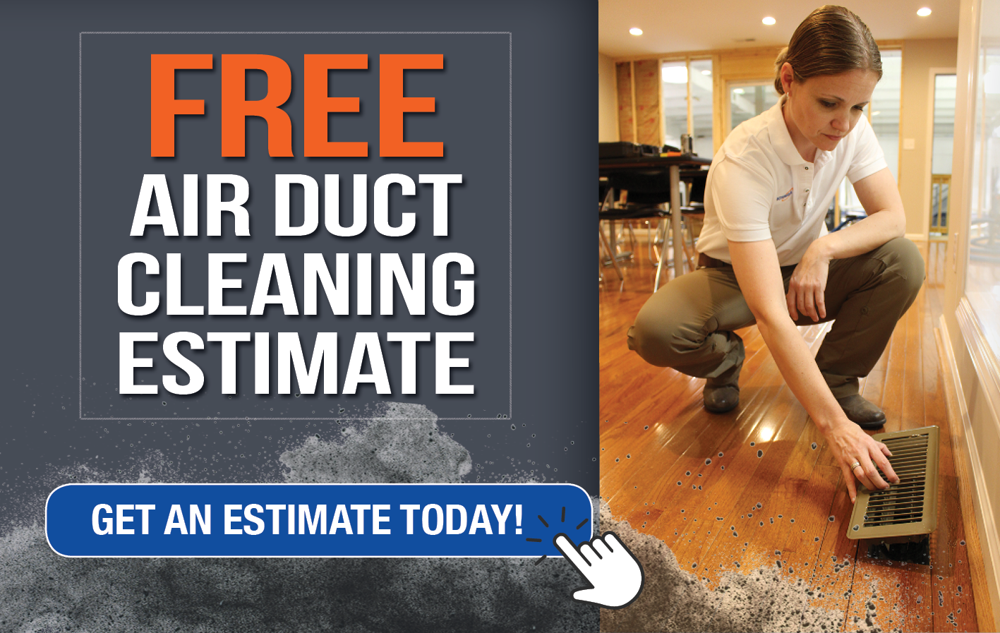 Free Air Duct Cleaning Estimate