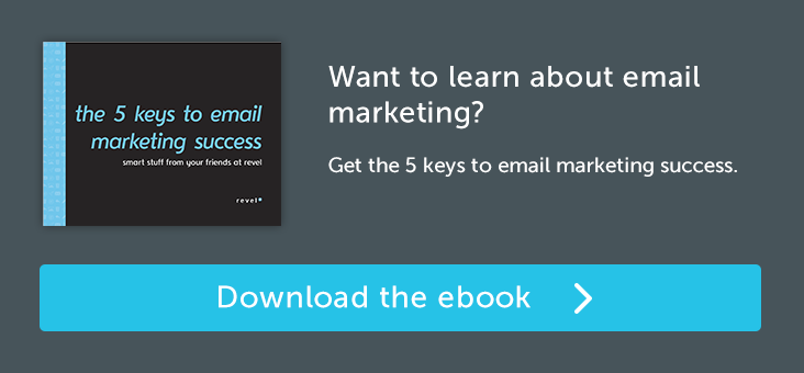 Get the 5 Keys to Email Marketing Success.