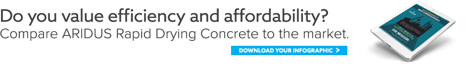 ARIDUS Rapid Drying Concrete - Speed To Revenue