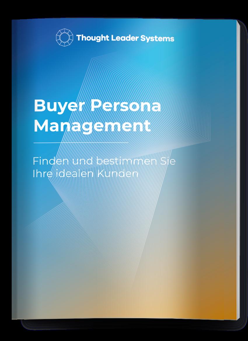 Buyer Persona Management eBook cover lesen