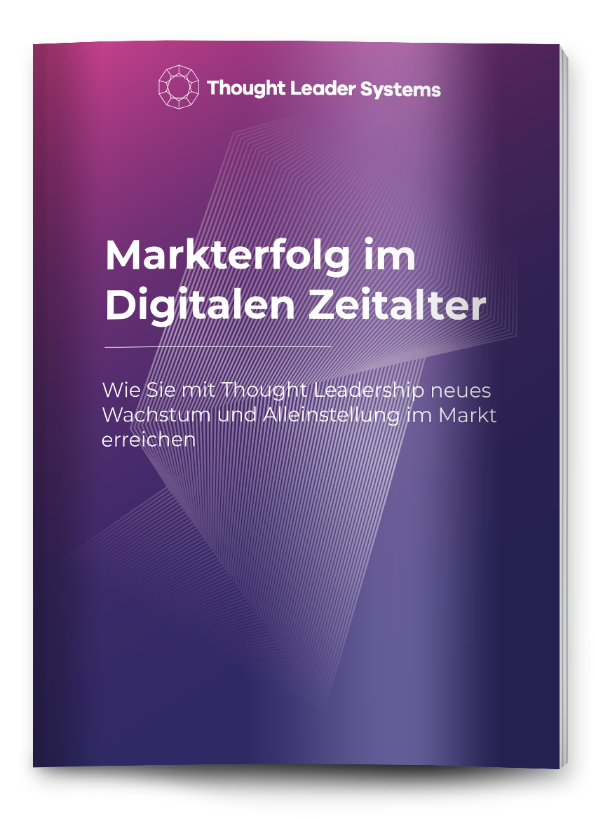 Markterfolg Thought Leadership eBook Cover digital