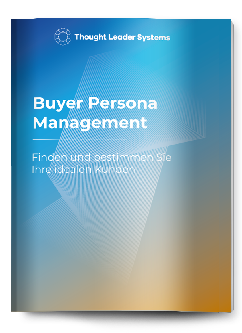 Buyer Persona Management eBook cover