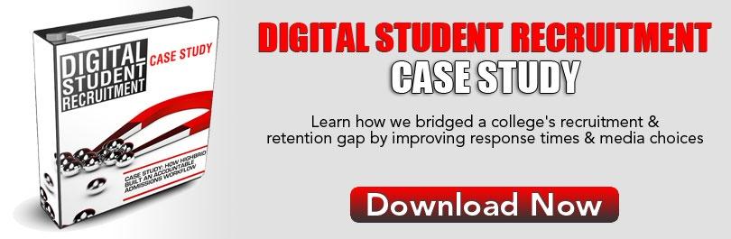 Digital Student Recruitment Case Study