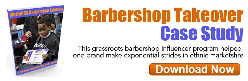 Barbershop Takeover Grassroots Marketing Case Study