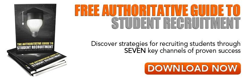 Authoritative Guide To Student Recruitment CTA