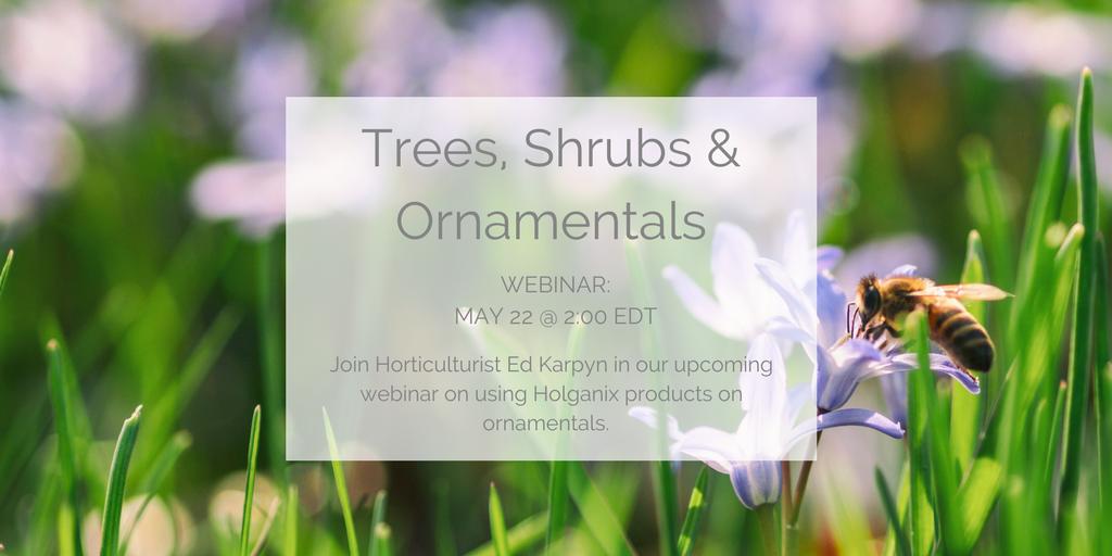 Webinar - Tree and shrub