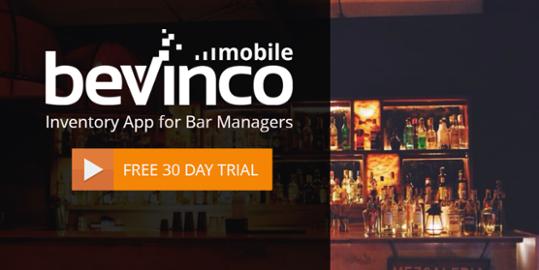 Bevinco Mobile Bar Inventory App Download