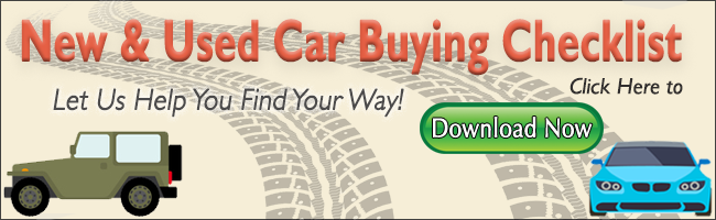 New & Used Car Buying Checklist - Download Now!