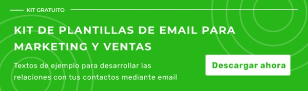 Kit de plantillas de email para marketing y ventas