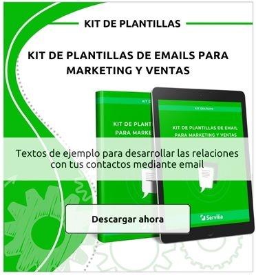 Descarga ahora este kit de plantillas de email para marketing y ventas