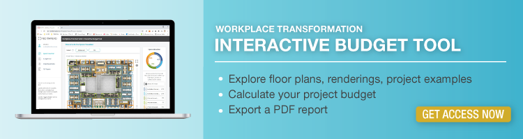 workplace transformation interactive budget tool