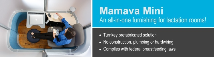 Mamava Mini: the all-in-one lactation suite
