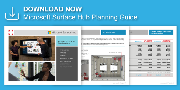 Download the Microsoft Surface Hub Planning Guide