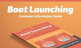 boat launching guide