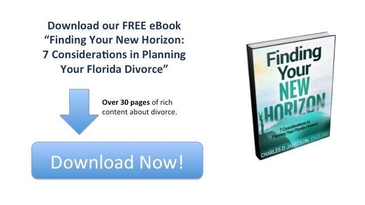 EBook Finding Your New Horizon: 7 Considerations in Planning Your Florida Divorce