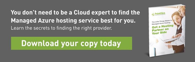 Managed Azure Services from PointClick Technologies