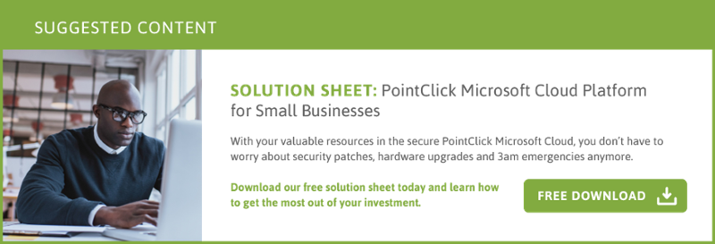PointClick Microsoft Cloud Platform for Small Businesses