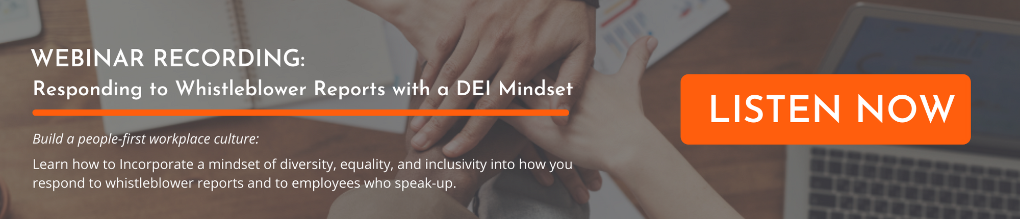 Webinar Recording: Responding to Whistleblower Reports with a DEI Mindset