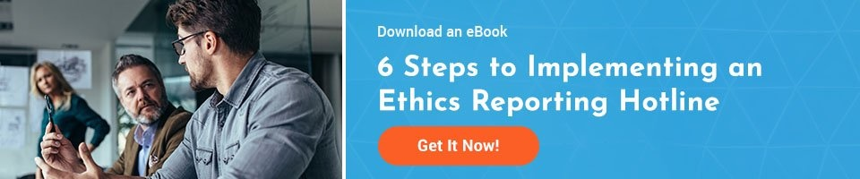 eBook: 6 Steps to Implement an Ethics Reporting System