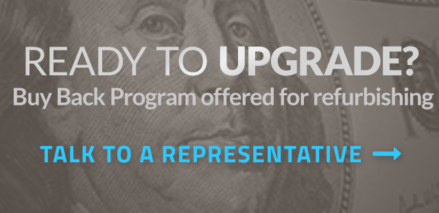 Upgrade your equipment. Buy Back program