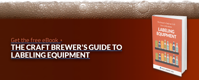 Get the free eBook  The Craft Brewer's Guide to Labeling Equipment