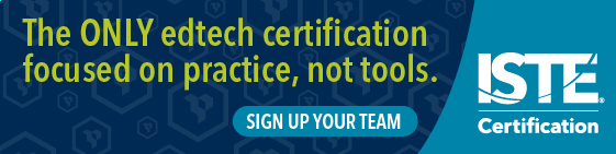 Register Now for ISTE Digital Leadership Summit Nov. 29-Dec.5 at ISTE20 Live.